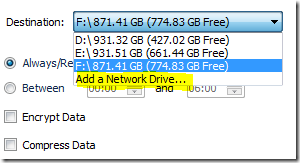 Add a Network Drive ...