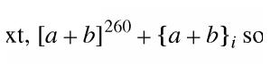 Contoh MathML sederhana 1.