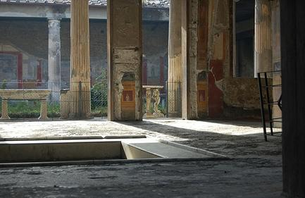 Ancient pompeii house layout