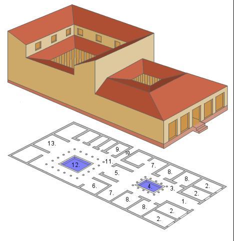 The roman house ad79eruption - La villa romaine antique ...