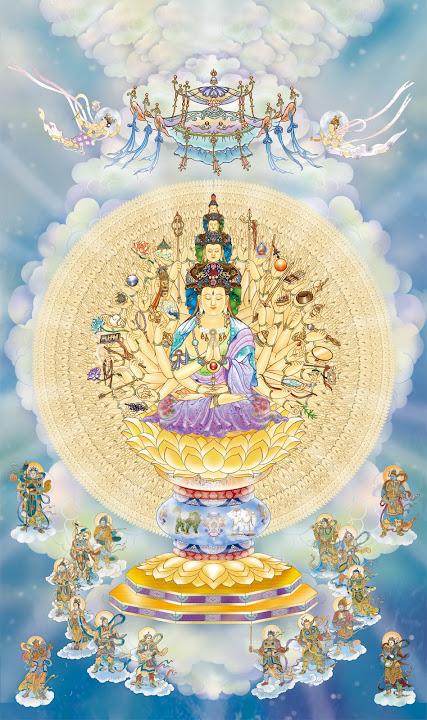 Avalokitesvara Seribu Mata Seribu Tangan