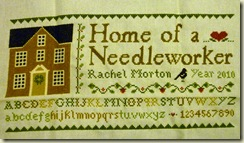Home of a Needleworker Finish 1-24-10
