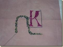 Nora's Letter K 7-15-09