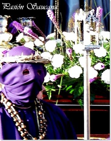 detalle vara nazareno procesión jueves santo 2008