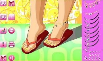 Screenshot of Flip Flop Toes Lite