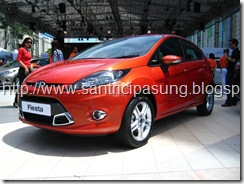 Warna ford fista Orange