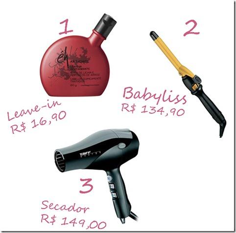 produtos hair
