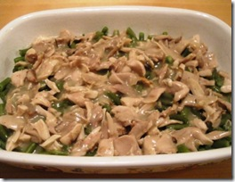 chicken &amp; green bean casserole - chicken