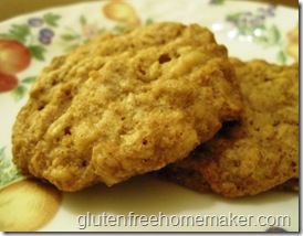Namaste oatmeal cookies