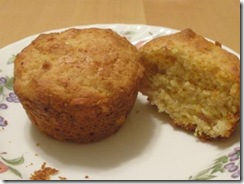 ham-cheese corn muffin