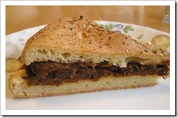 beef barbeque sandwich