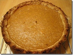 whole pumpkin pie