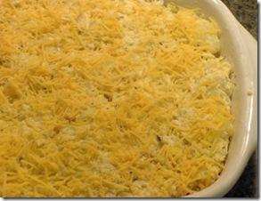 gold potatoes - in dish