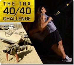 TRX 40-40 challenge