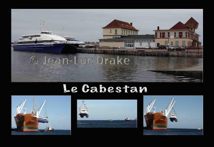 L'arrivée du Cabestan, par Jean-Luc Drake