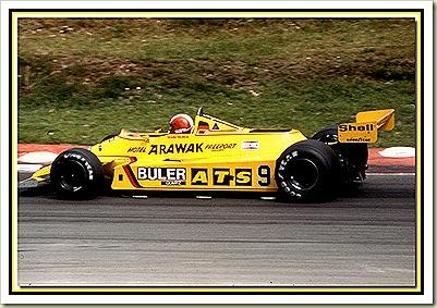 ATS D4 F1 1980