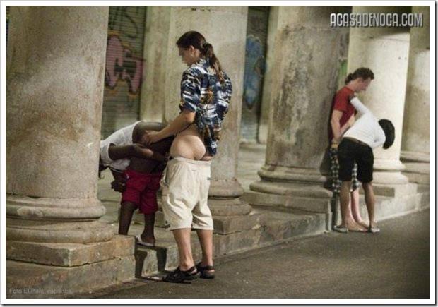 Na Espanha Prostitutas Fazem Seo Rua