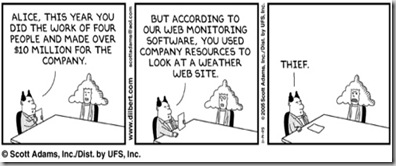 internet thief - Dilbert