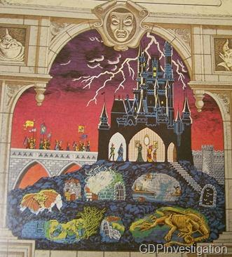 Cinderella Castle Mystery Tour Dragon