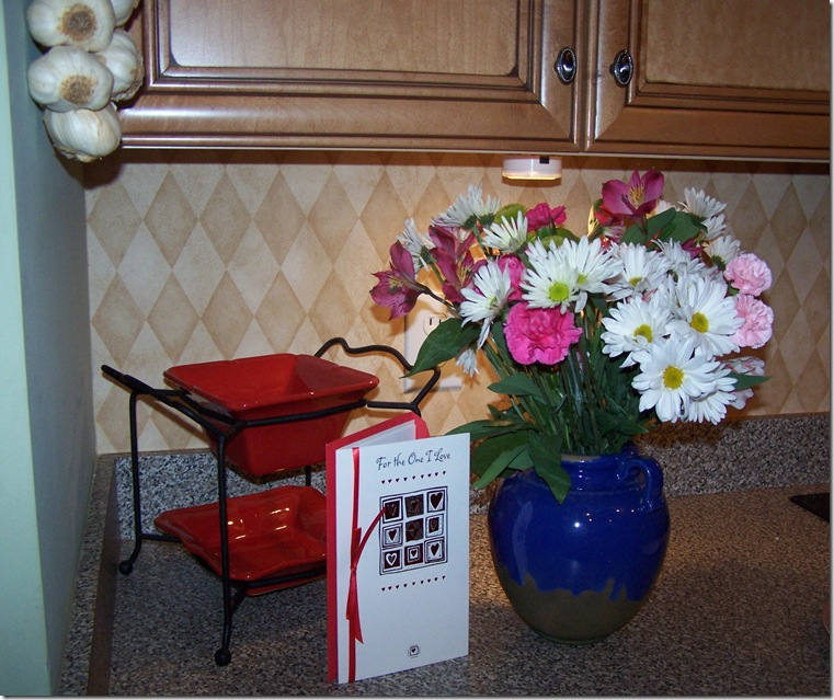 Chair and flowers 006