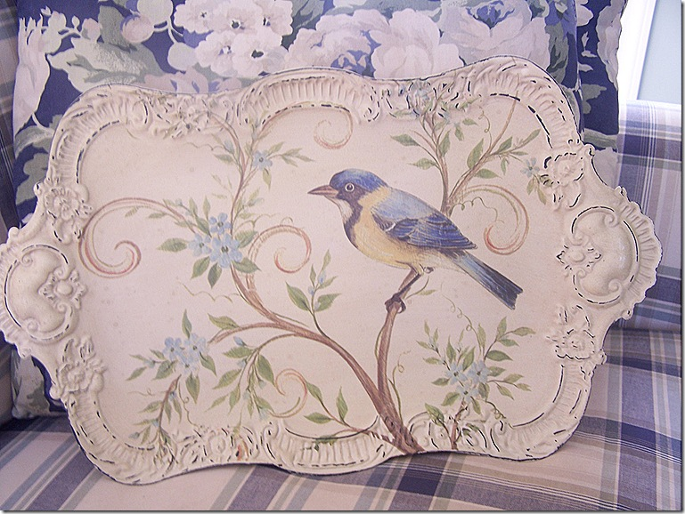 Pier One Tray with Bird 006
