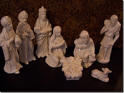 Goodwill Nativity Set 002