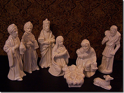 Goodwill Nativity Set 003