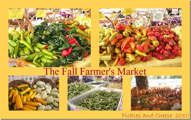 Fall Farmer's Market 2010
