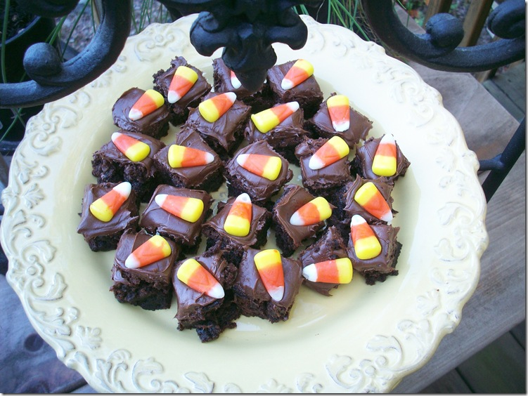 Candy Corn Brownies 003