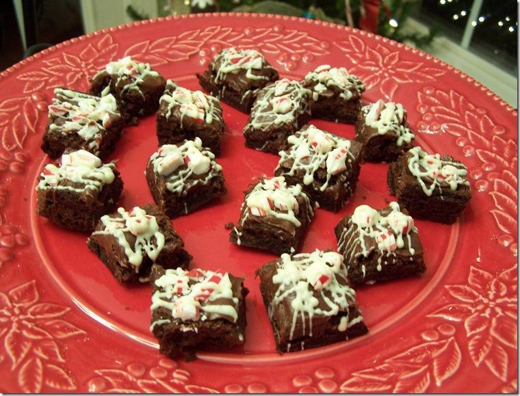Peppermint Brownie Bites 020