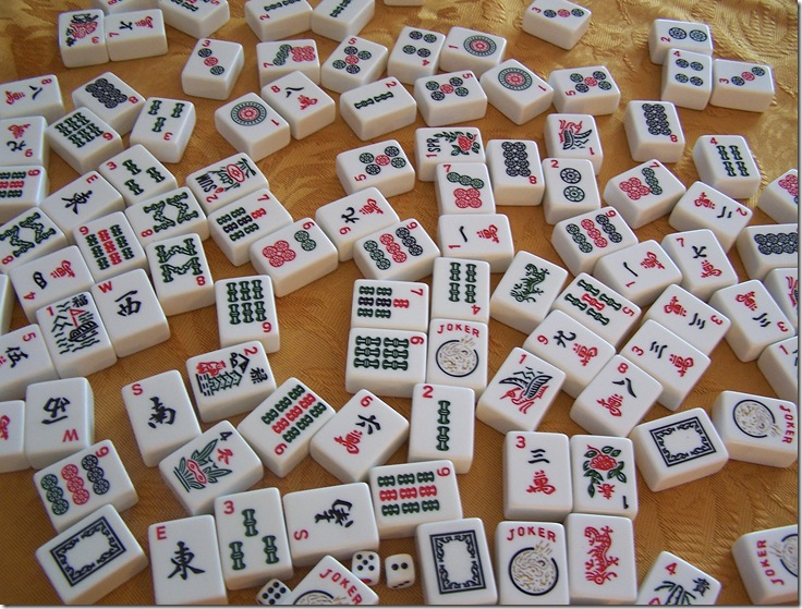 Mah Jong Tiles 036