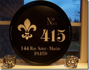 French Tray 156