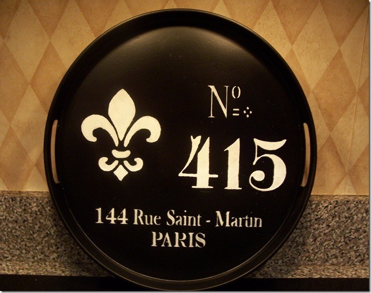 French Tray 147