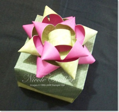 Project 3 - Origami Box & Paper Bow