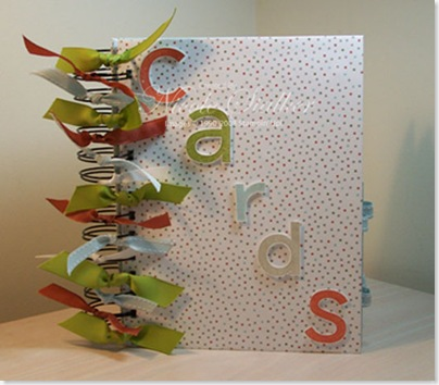 Card Organiser Book