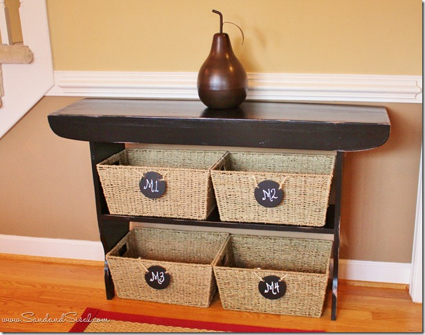Storage sidetable