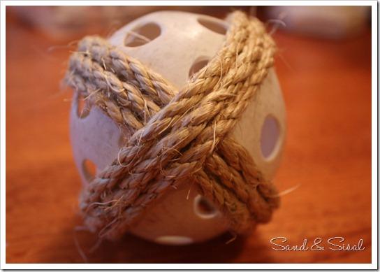 sisal ball start