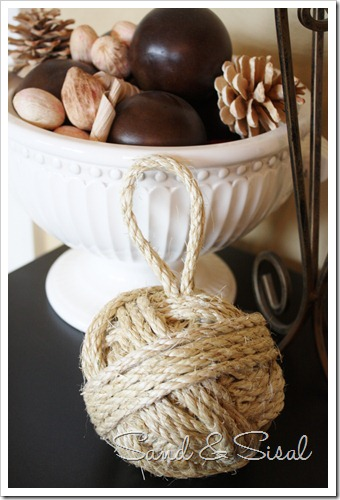 Sisal Rope Ball