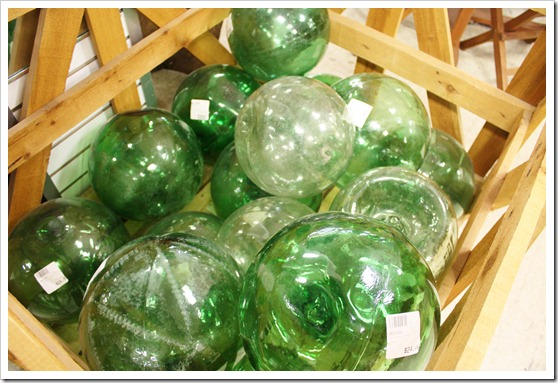 glass bouys