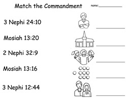 commandment match