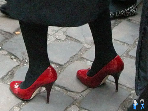 paris fashion week shoes