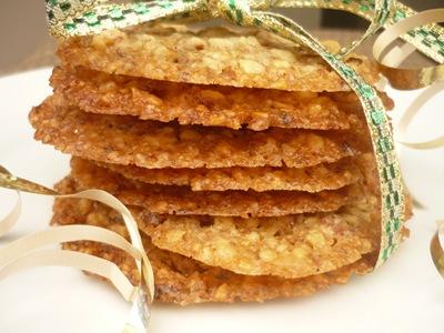 ... bon appétit cookie extravaganza! Day5…Orange-Almond Lace Cookies