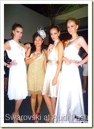 Swarovski at Audi Fashion Festival Jayson Brunsdon Dress 30