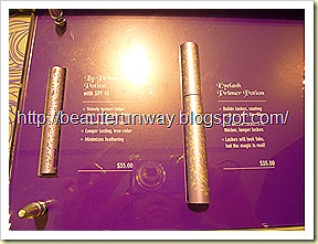 Urban decay lip primer and eyelash primer beaute runway