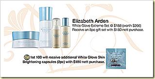 white glove extreme elizabeth arden