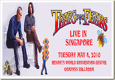 TEARS FOR FEARS AT RESORTS WORLD SENTOSA