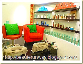 Face bistro beaute runway interior 2