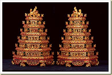 pagoda trays