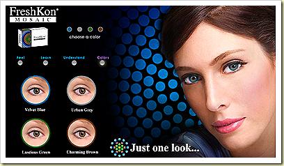 freshkon mosaic lens colors