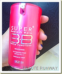 SKin 79 Hot pink super plus bb cream close up
